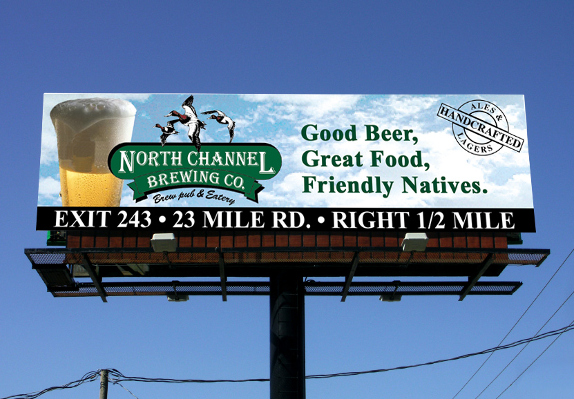 outdoor advertising billboard design