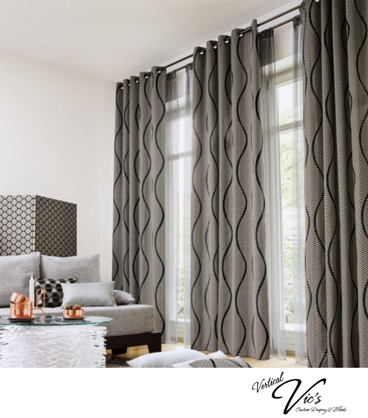 Custom Blinds & Drapery