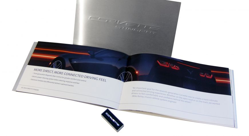 2014 Chevy Corvette Press Kit Booklet