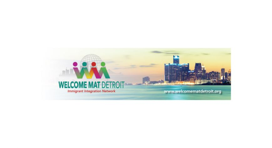 Welcome Mat Detroit Bookmark Promo Item