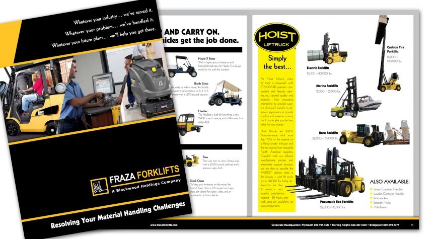 Fraza Forklifts Catalog